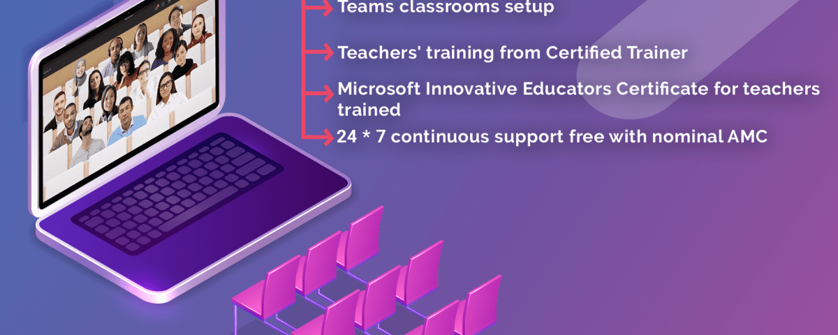 Microsoft Teams in Classroom Nepal